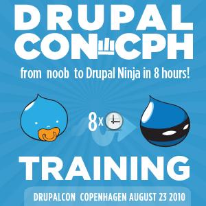 DrupalCon Copenhagen training