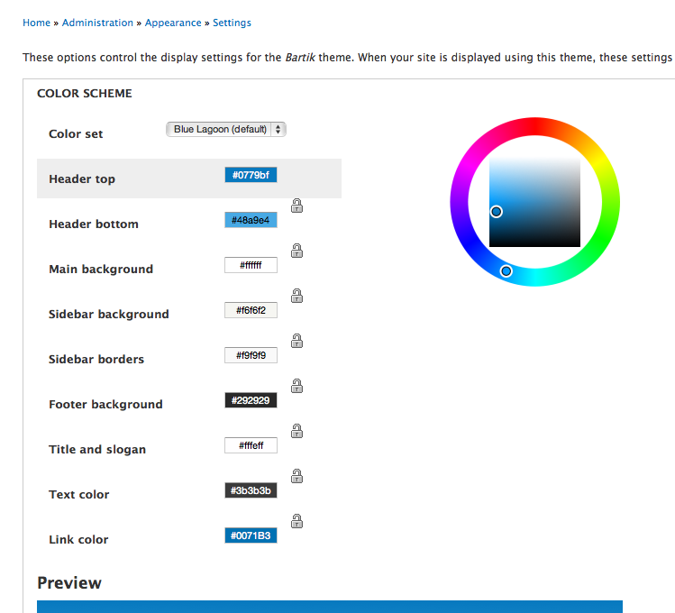 when attempting to change blue to another color users often change