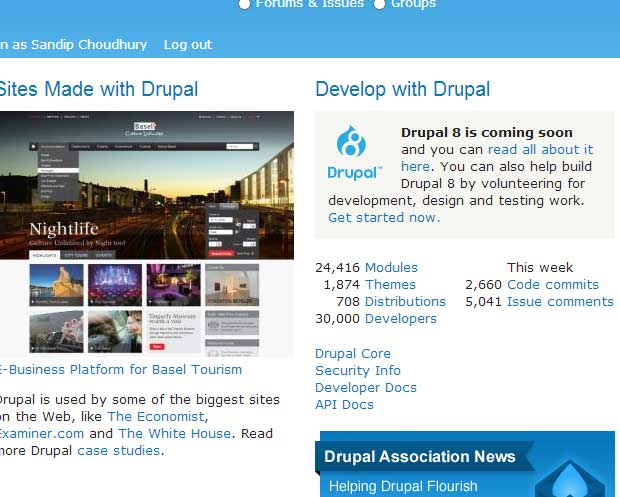 30,000 developer in drupal.org