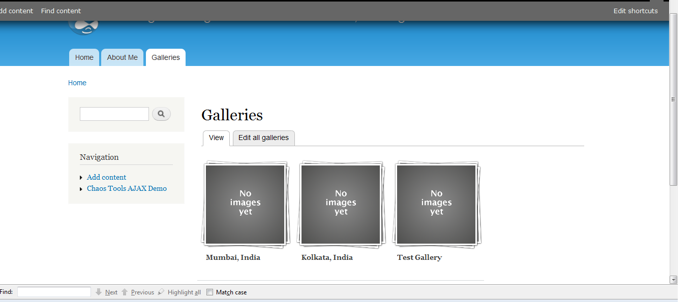 Media Gallery not displaying images and image thumbnails or ...