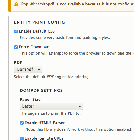 Setting paper orientation for dompdf? [#2797877] | Drupal org