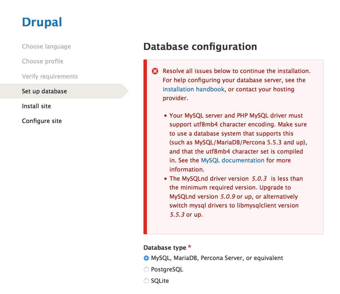 Provide better error handling for MySQL client and server