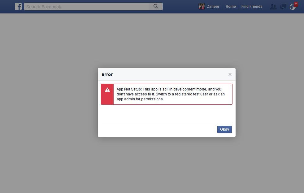 Unable to login with FB - Could not save FB session  Exception