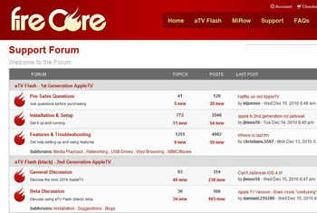 FireCore Forums