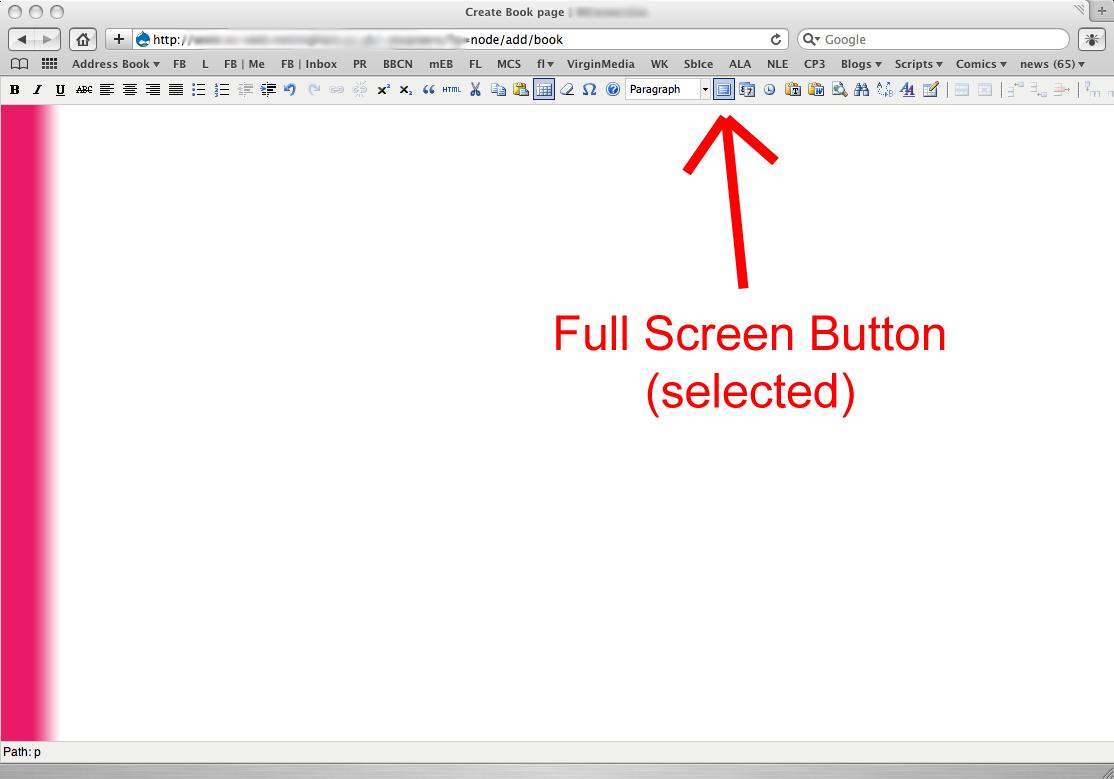 TinyMCE & CKEditor: IE/Chrome: Buttons do not wrap [#308912
