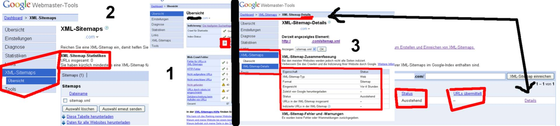 google webmaster tools doesn t get any links 375730 drupal org