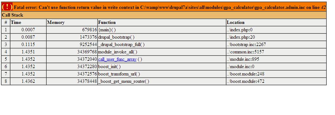 D7 gpa calculator 2315327 drupal 45 gpa calc errorg ccuart Gallery