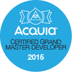 Acquia Certified Grand Master Developer