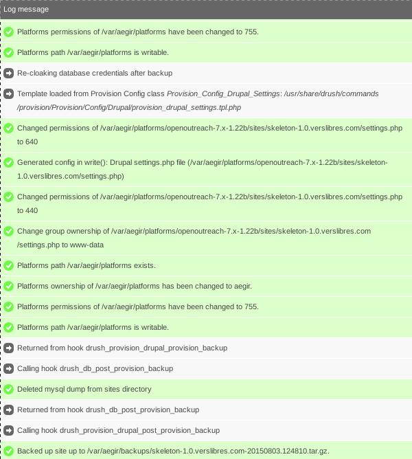display execution time in task log 2547209 drupal org