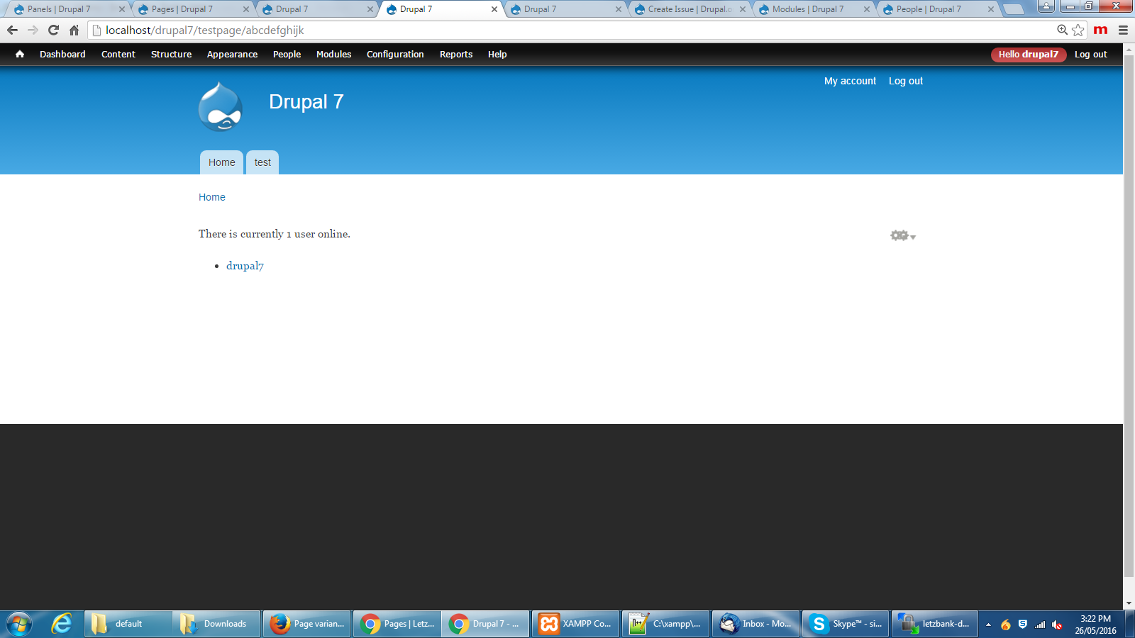 Panel Page Url\'s not redirected to 404 pages [#2734149] | Drupal.org