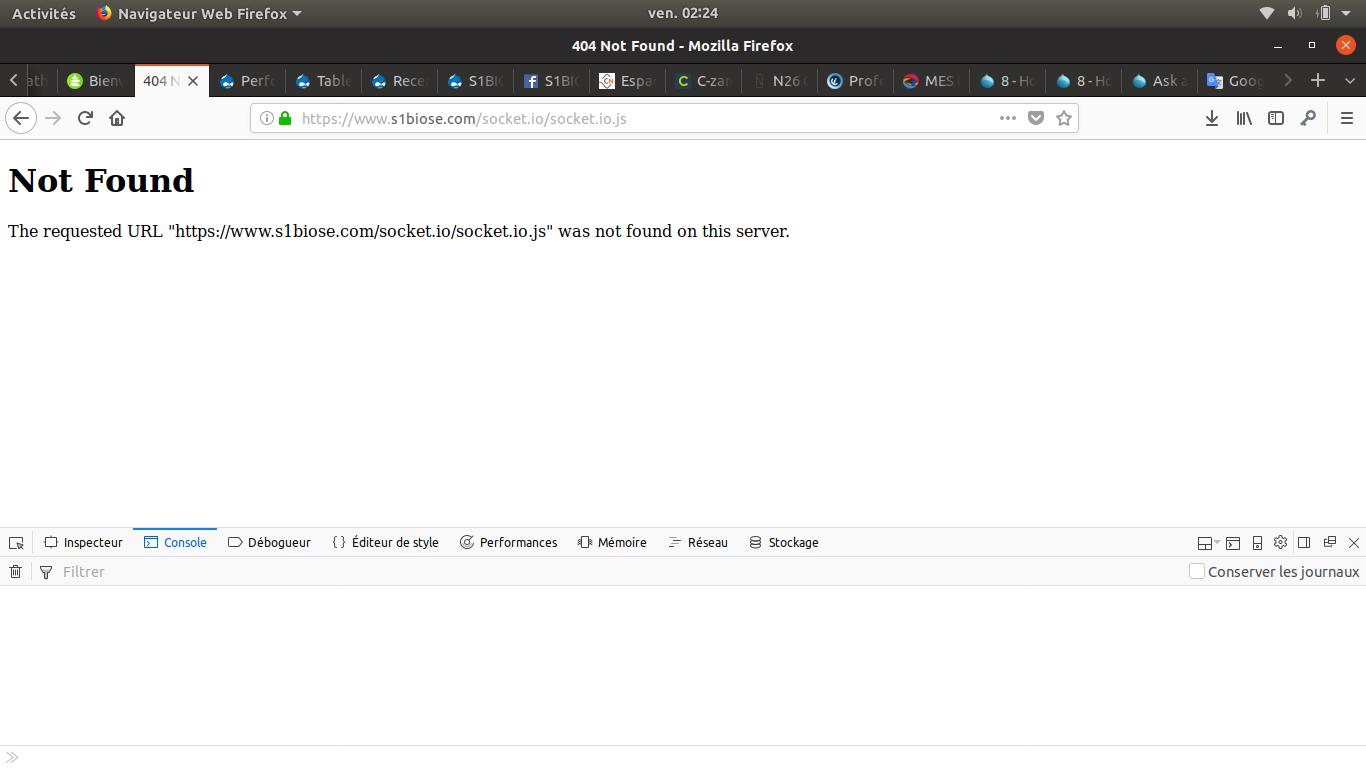 drupal client not loading socket io [#2877036] | Drupal org