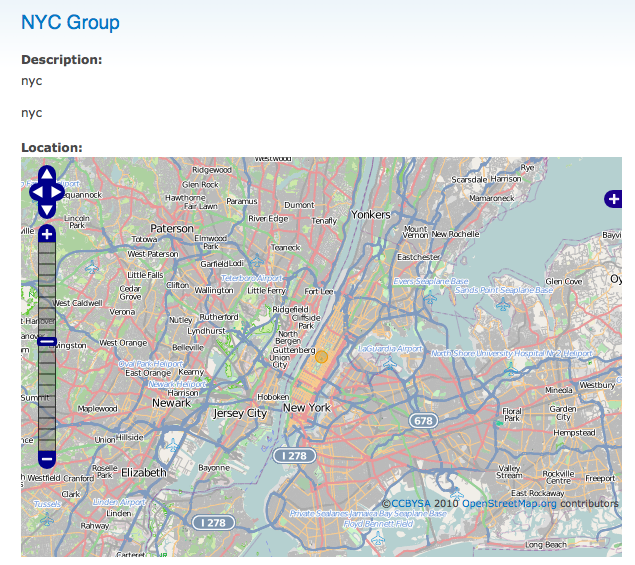 Add a location field to group and event content types [#1074208
