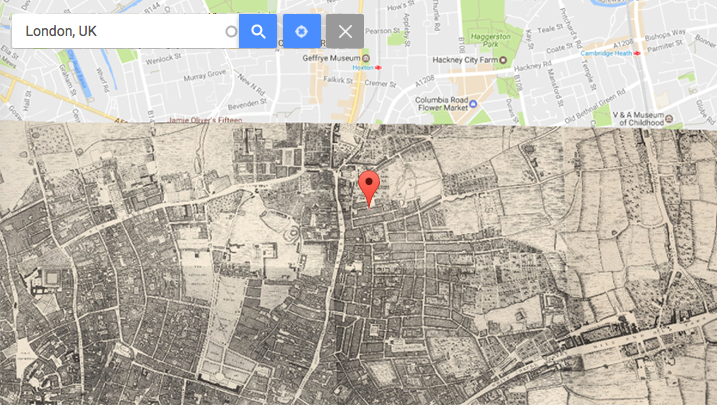 Support for Google Maps Custom Overlays with Geocoding