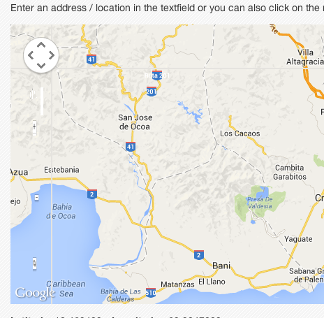 Distorted controls on Google Map Widget for field_geo on