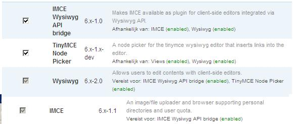 No IMCE under Buttons and Plugins in WYSIWYG [#553616] | Drupal org
