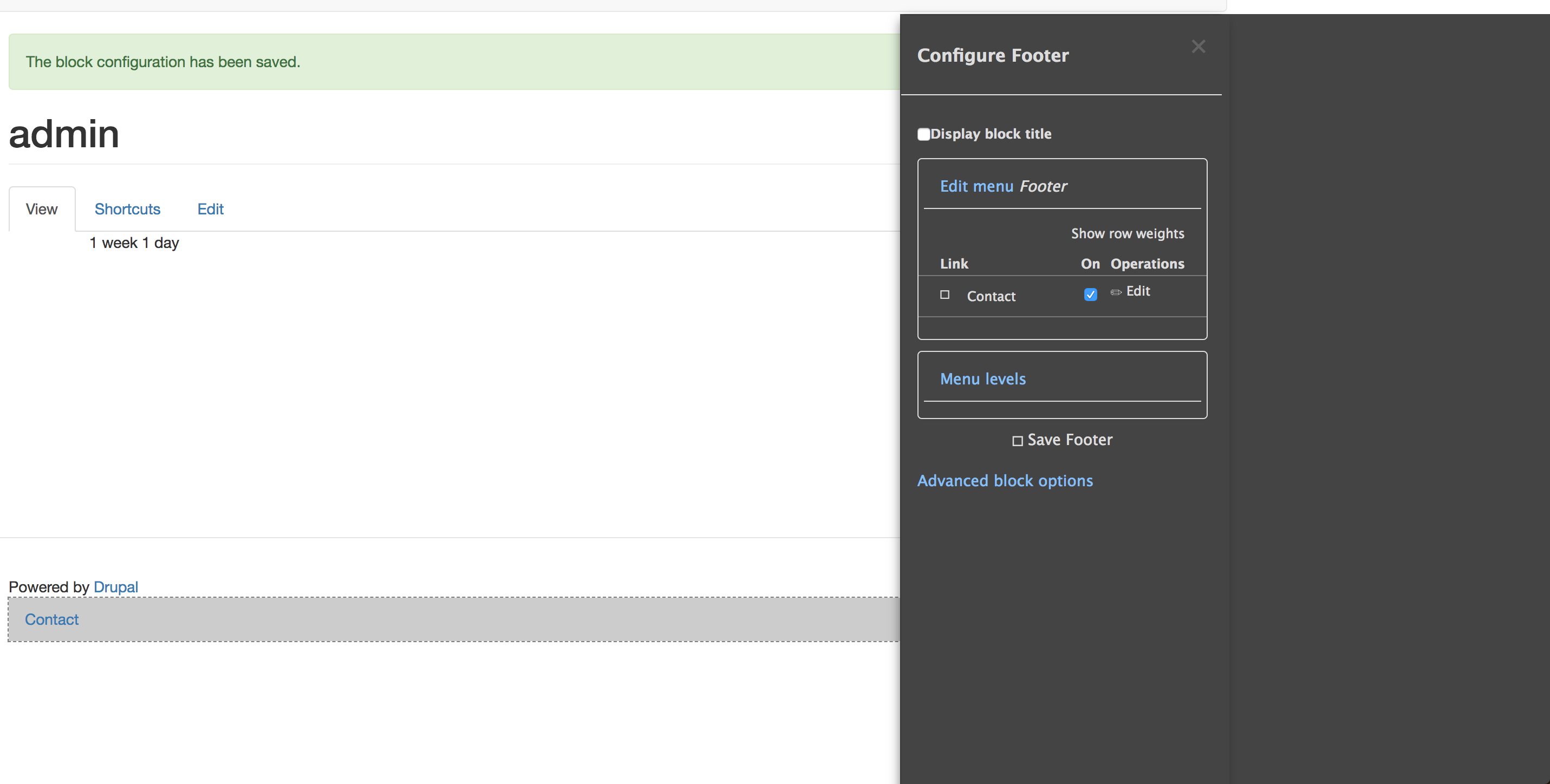 bootstrap] Add support for the Off-canvas dialog used by