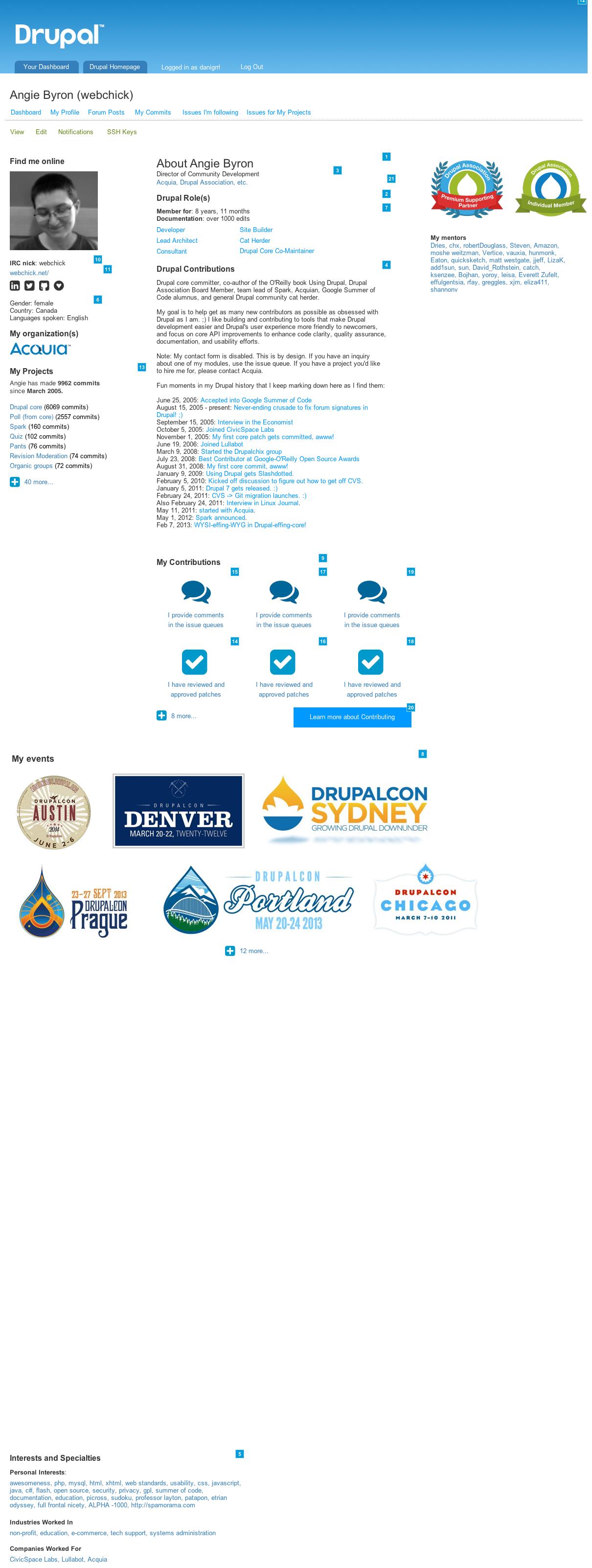 Make drupal user profiles more robust 2281763 drupal 7 profilehighcodecontributorg xflitez Gallery