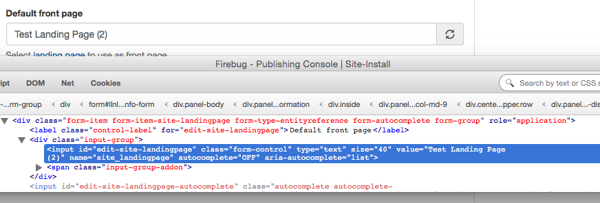 autocomplete and form element class name [#2804221] | Drupal.org