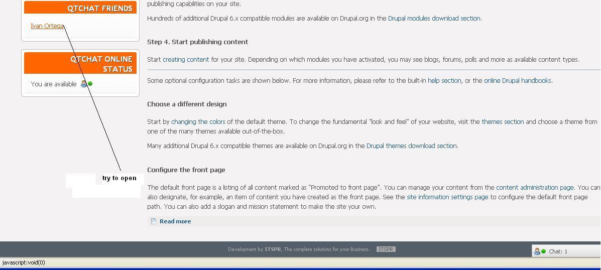 I\u0027m stuck with an error of javascript: void (0) [#1071348] | Drupal.org