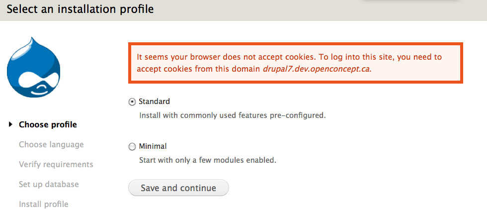 Installer does not warn the user that cookies must be enabled with 5 screen capture 12g ccuart Image collections
