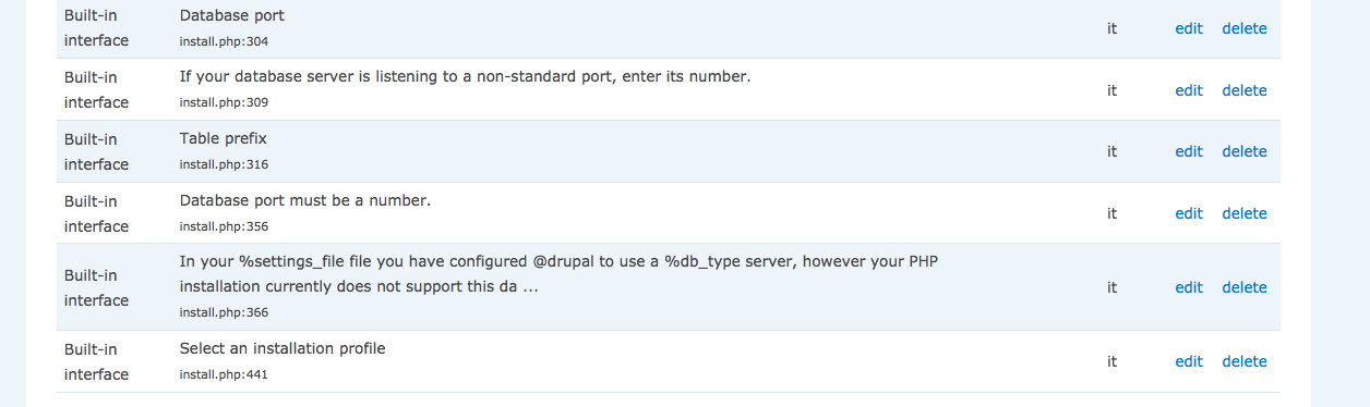Installing Drupal 7 in non-English language doesn't pick up st