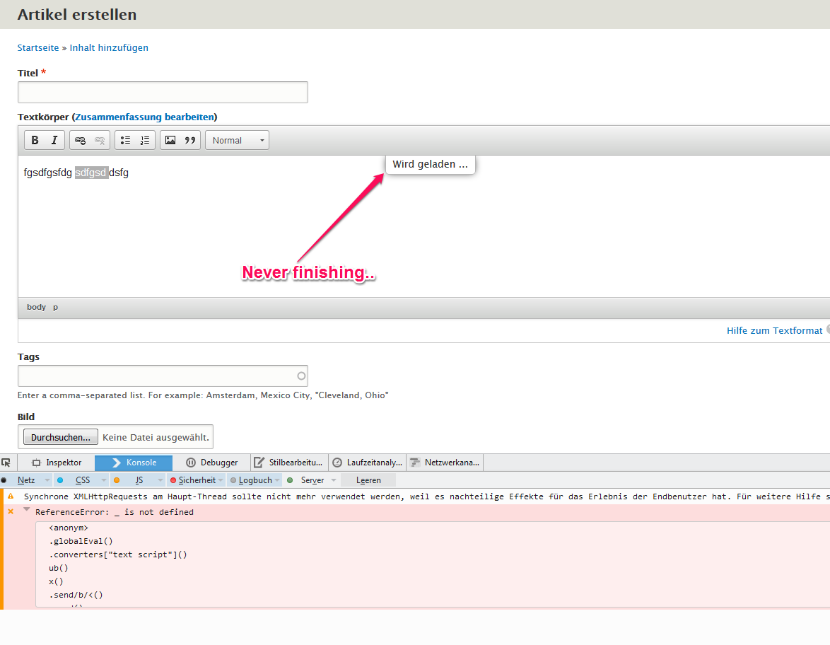 Linkit does not work for non-admin user in firefox [#2665420