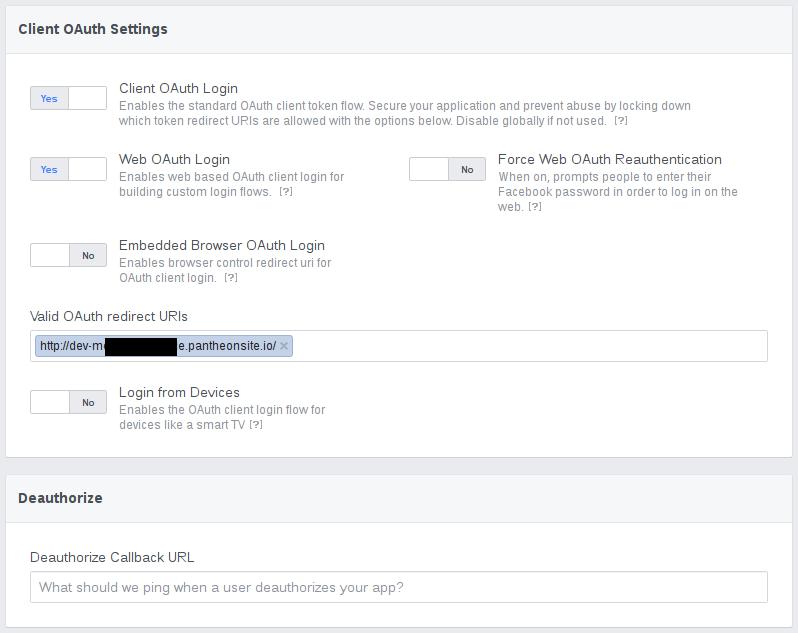 Facebook login fails in Pantheon [#2839766] | Drupal org