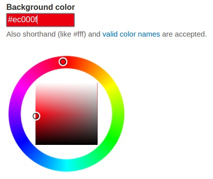 css how to set varible value to css color