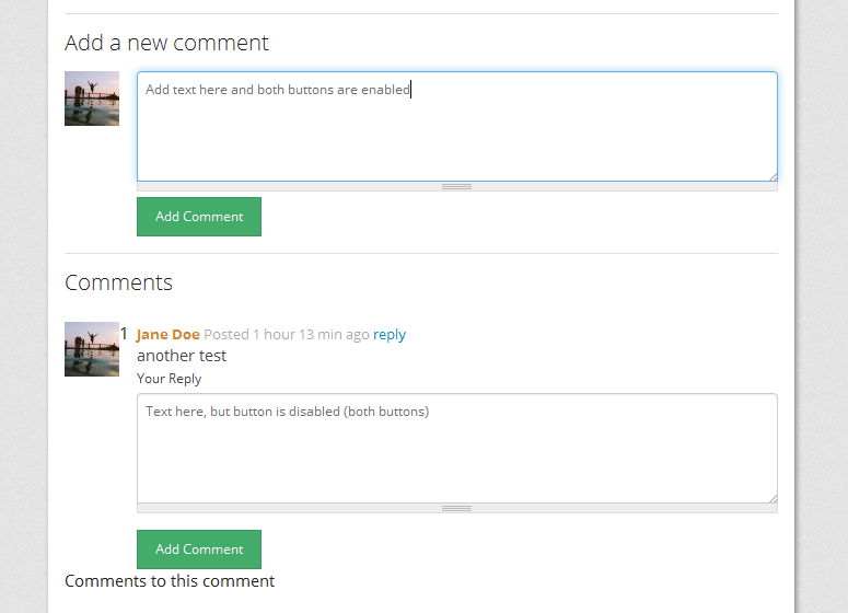 Comment Submit Buttons Disabled In Bootstrap 2359063 Drupal