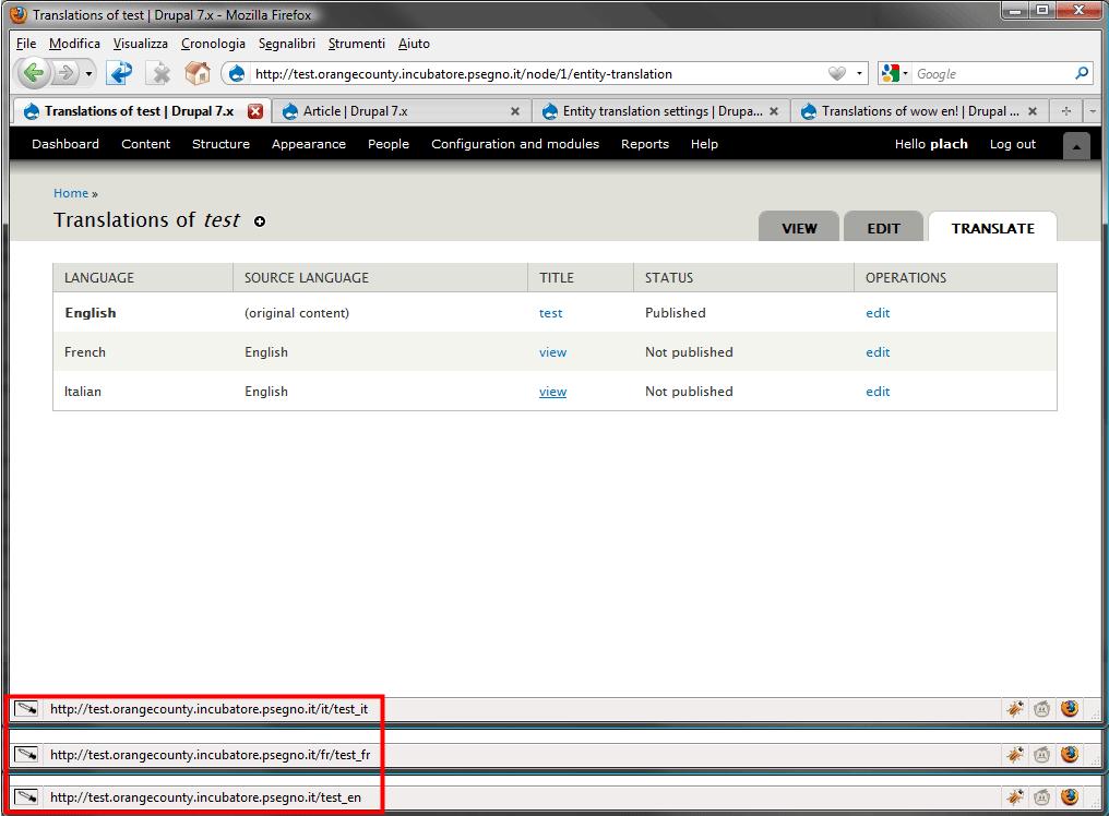 TF #4: Translatable fields UI [#539110]   Drupal org