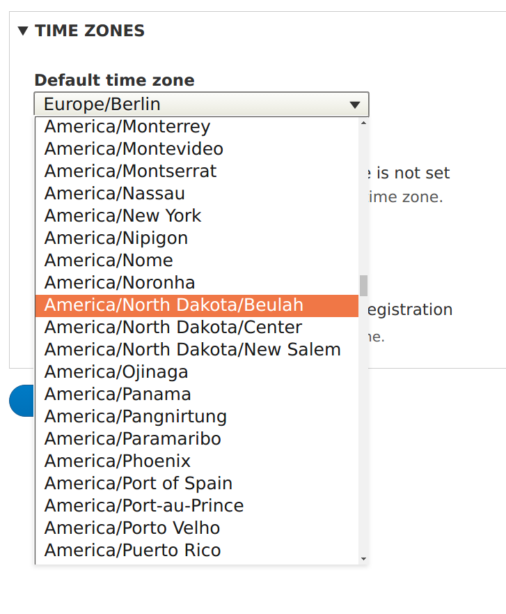 Improve timezones selector with optgroups [#2847651