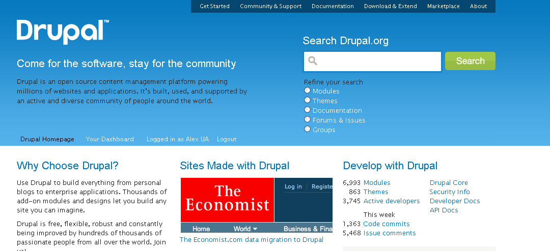 Image result for drupal png