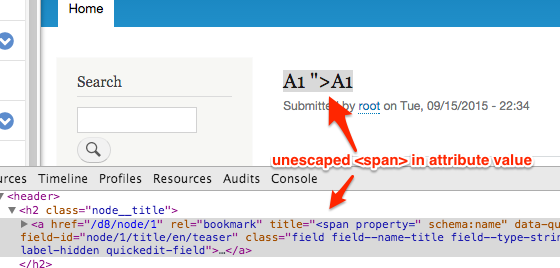 Figure out what to do about attribute filtering in Twig [#2569041
