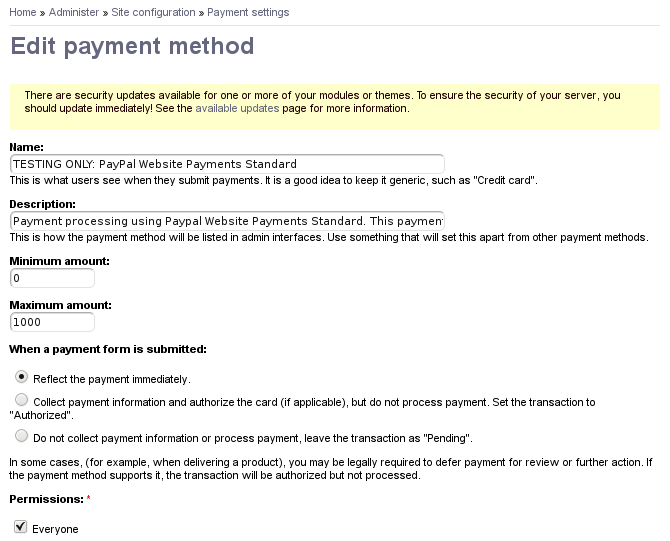 No credit card input field shows when using PayPal Website ...
