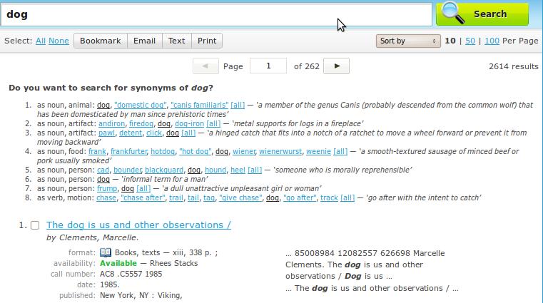 User interface for WordNet suggester [#1182356] | Drupal org