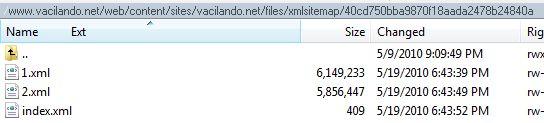 sitemap xml returns page not found 789026 drupal org