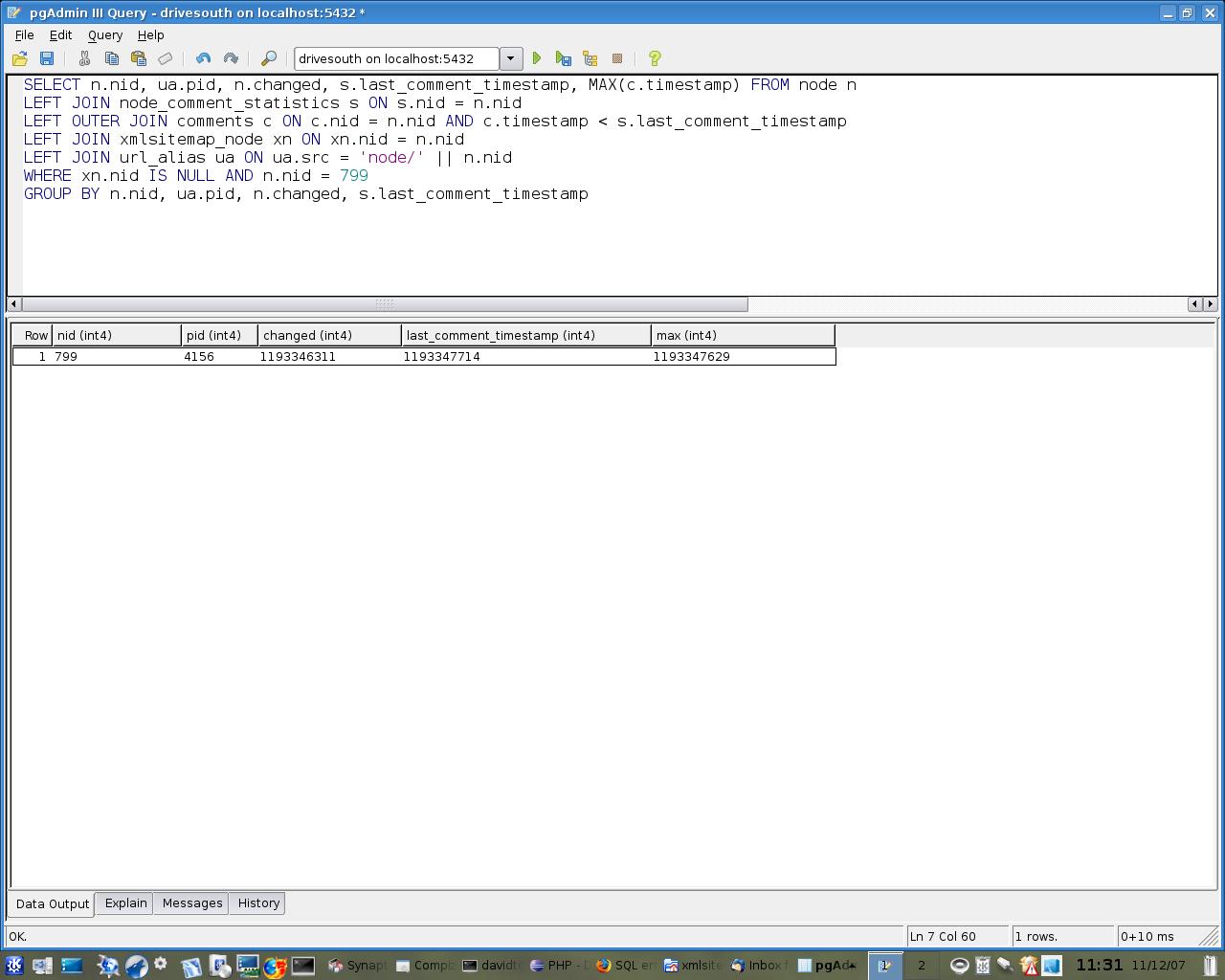 sql error when node has multiple aliases 199413 drupal org