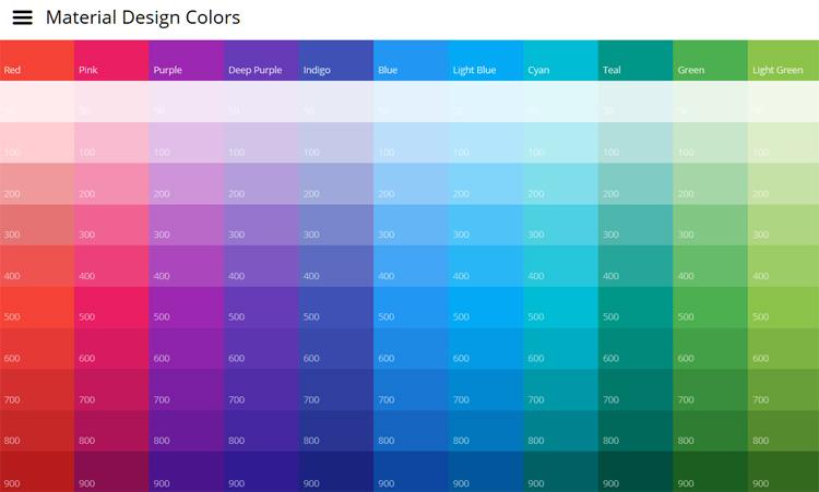 Material Colors 8484 KB