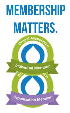 Membership matters: Membership badges stacked vertically