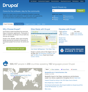 A Tour of the Redesigned Drupal.org