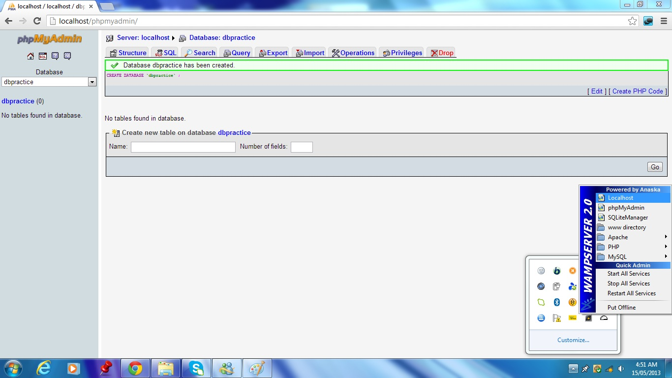 Step 8 - Open localhost | Drupal.org