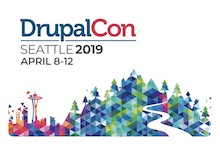 DrupalCon Seattle April 8-12 2019