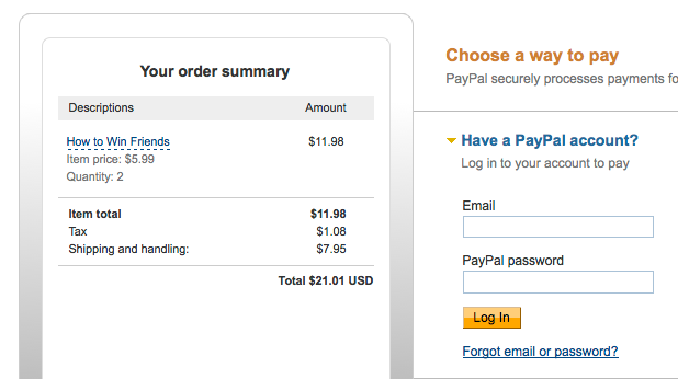 how to cancel a pending order on paypal