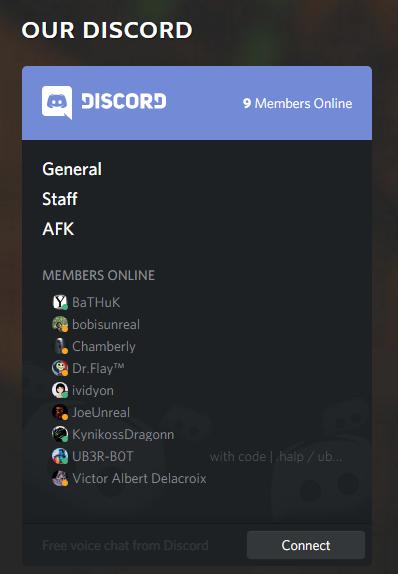 Discord Widget Drupal Org