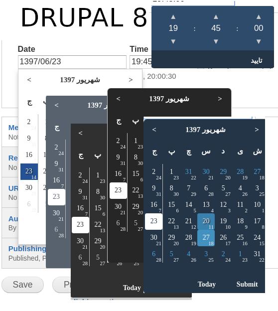 Calendar Systems | Drupal org