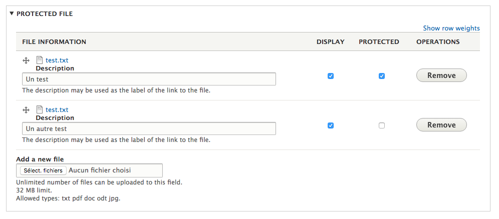 Protected File (from download) | Drupal org