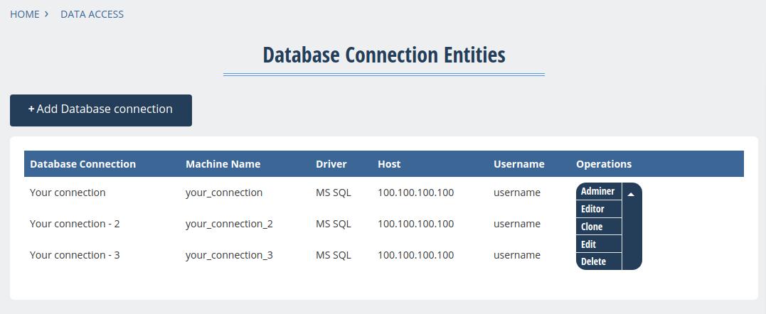 Database Administration Tool | Drupal org