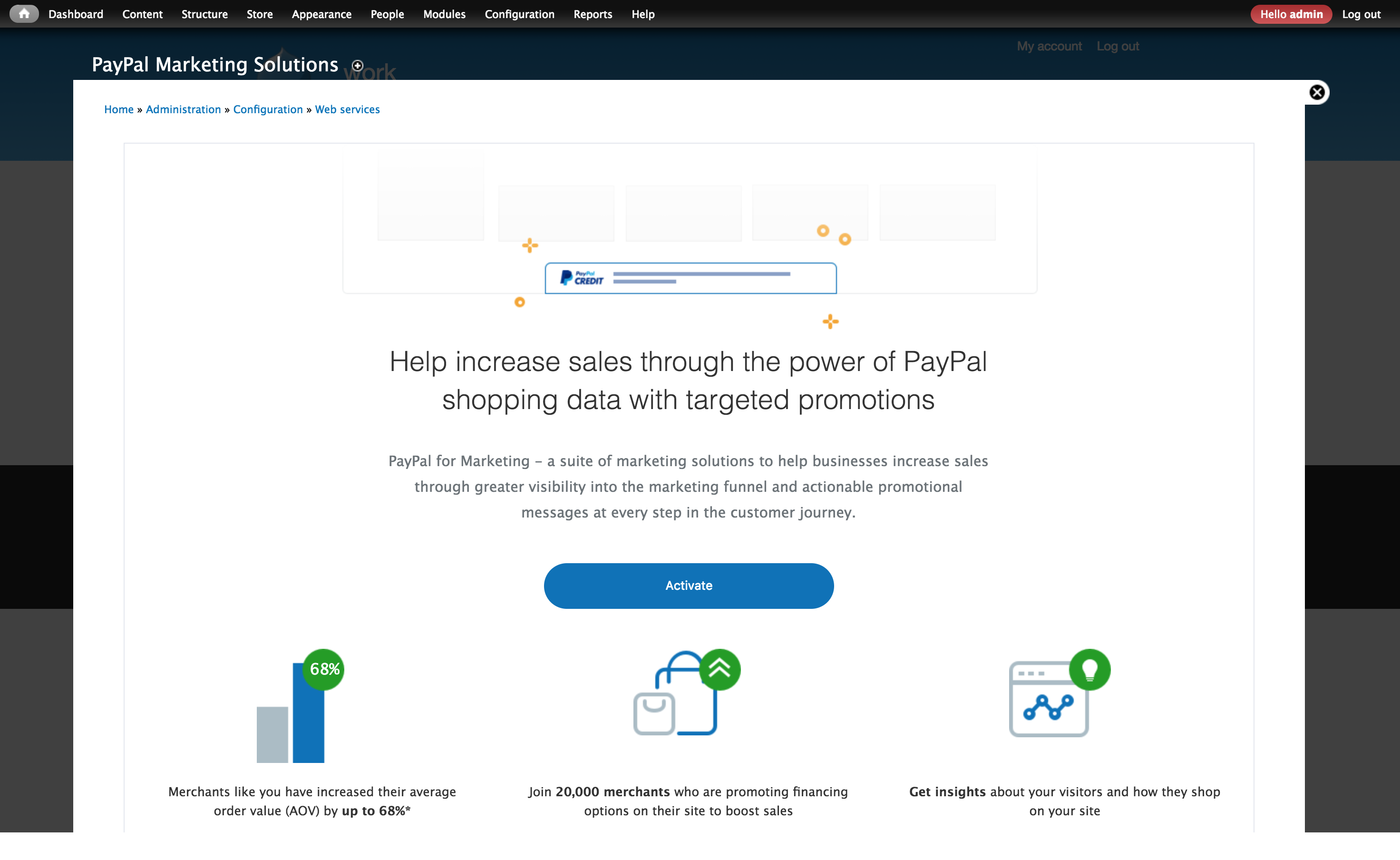 PayPal Marketing Solutions   Drupal.org