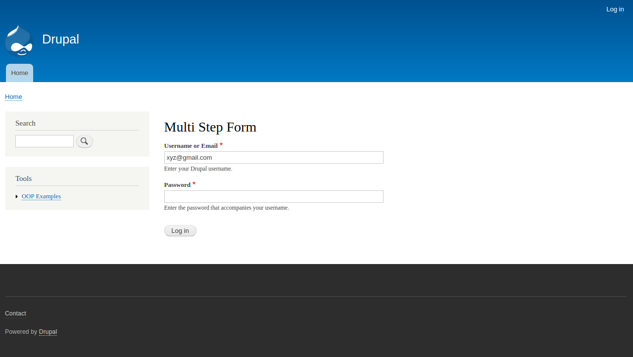 Multi Step Login | Drupal org