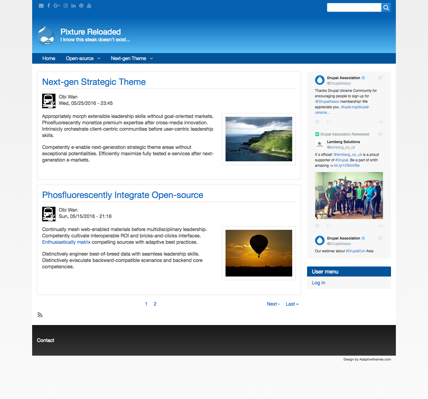 Theme project | Drupal org